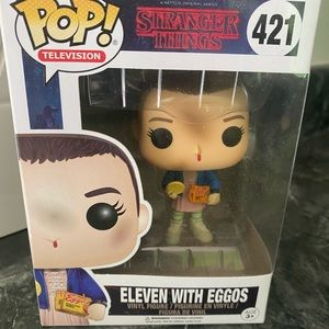 Stranger Things Funko POP 421 Eleven with Eggos